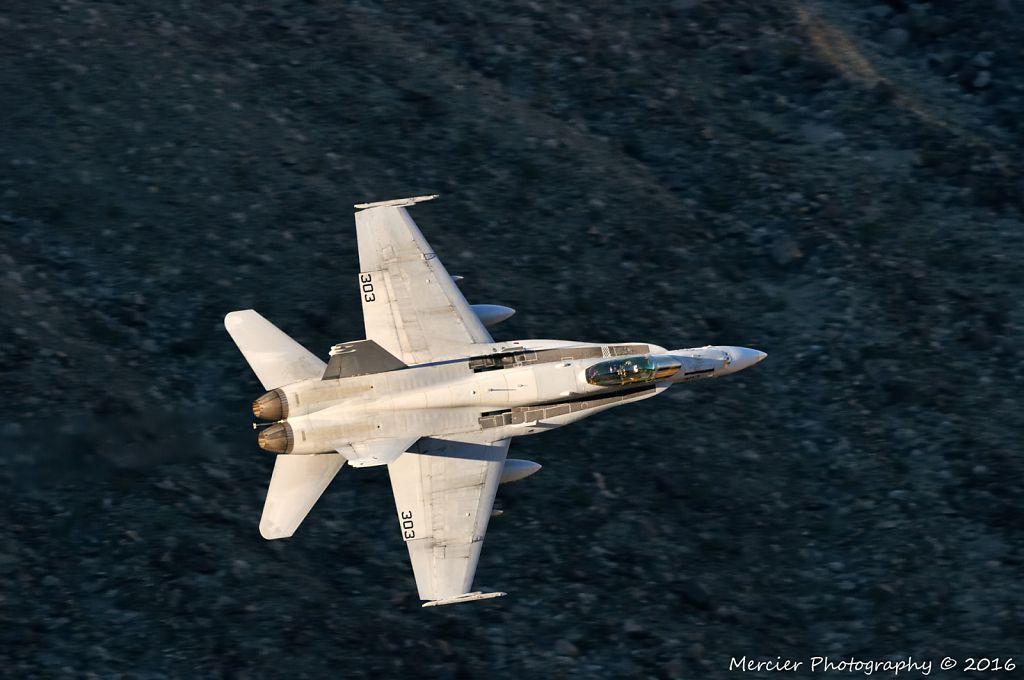 China Lake Navy VX-9 F/A-18C